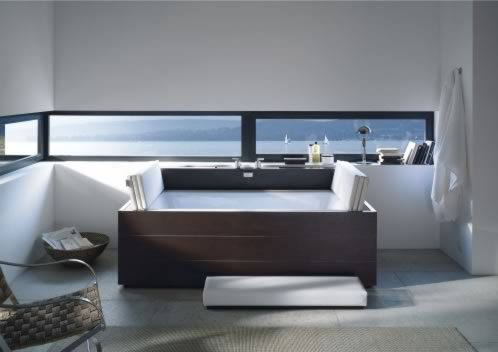 tinas de ba o duravit. Black Bedroom Furniture Sets. Home Design Ideas
