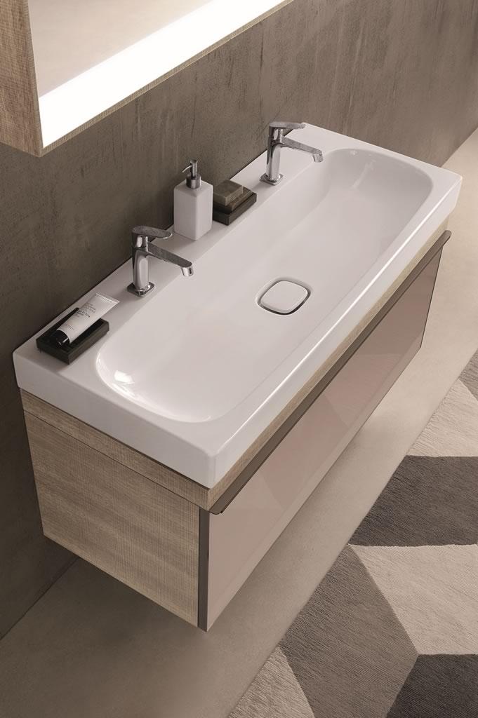 lavabos keramag. Black Bedroom Furniture Sets. Home Design Ideas
