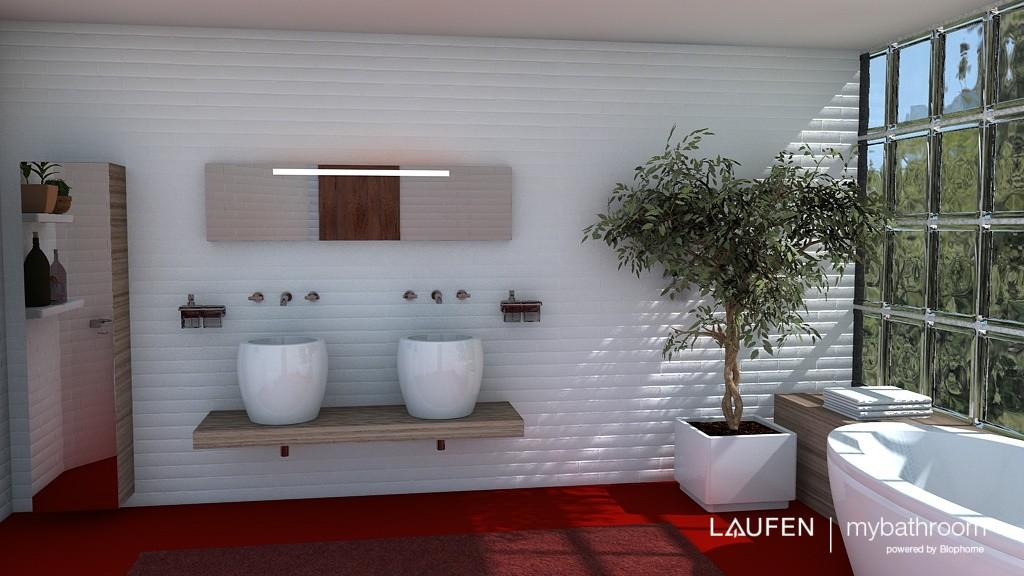 Nueva herramienta de Laufen para diseñar tu baño en 3d